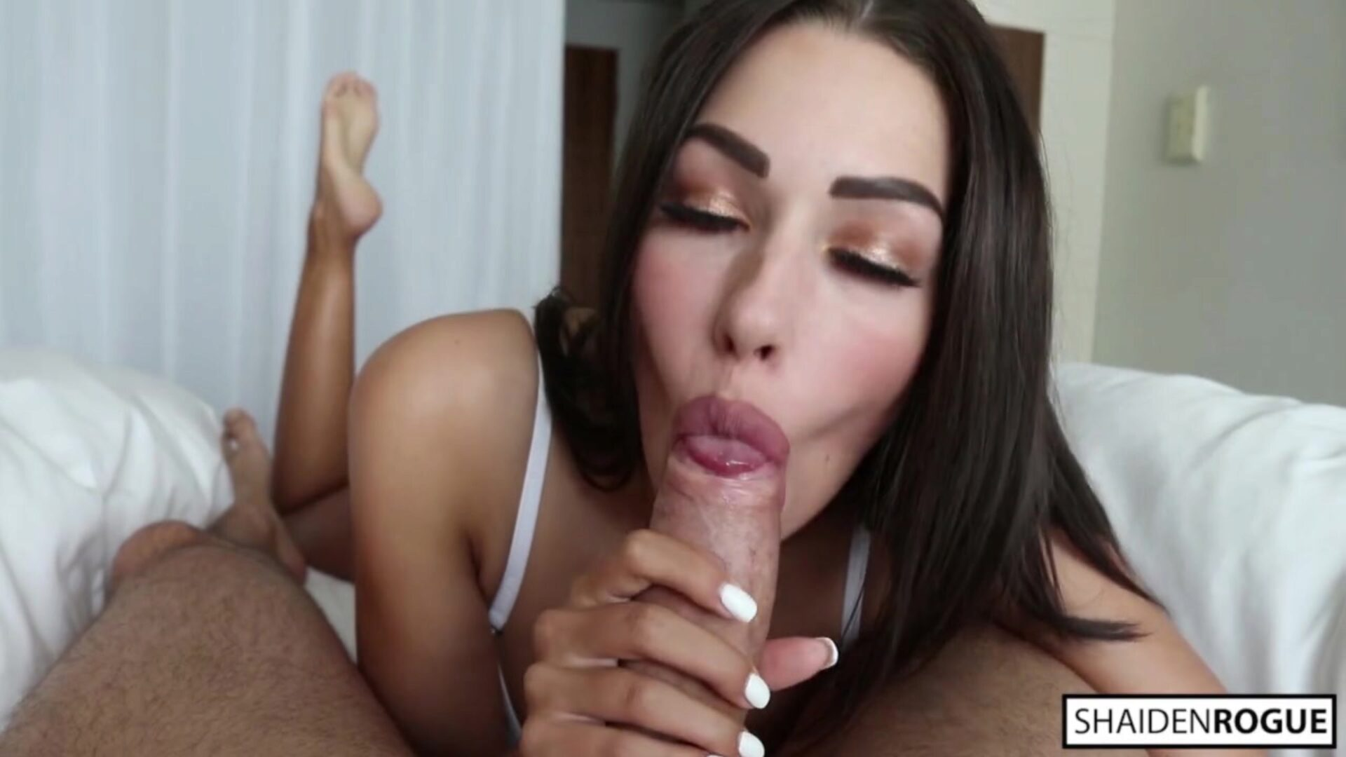 Intimate Sensual Blowjob - Girlfriend Experience Part I - Shaiden Rogue