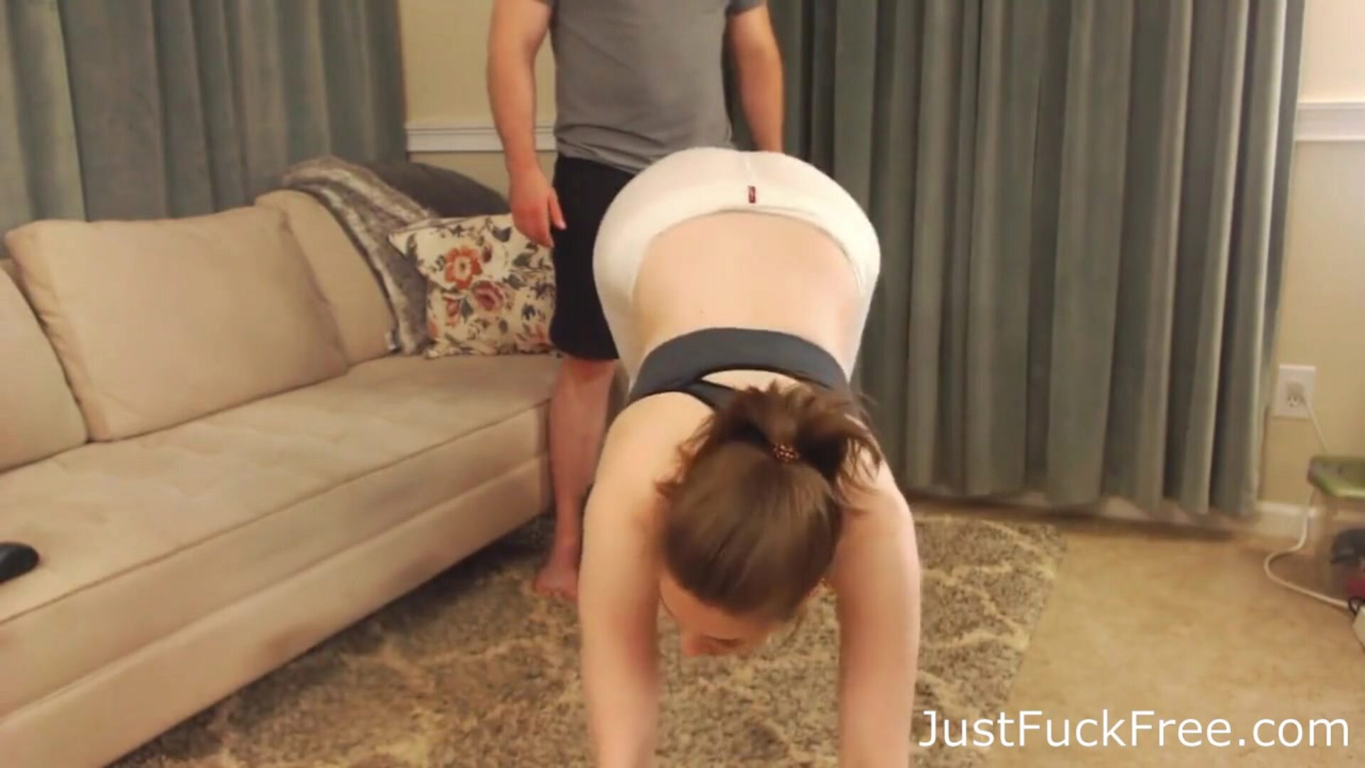 Horny Teen Gets Fucked By Her Personal Trainer