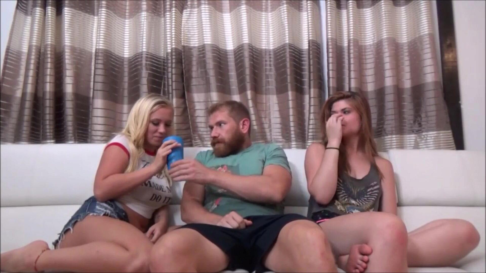 Brother Fucks Sister & Cousin at Family Reunion - Bailey Brooke & Hunter Rose - Family Therapy - Preview
