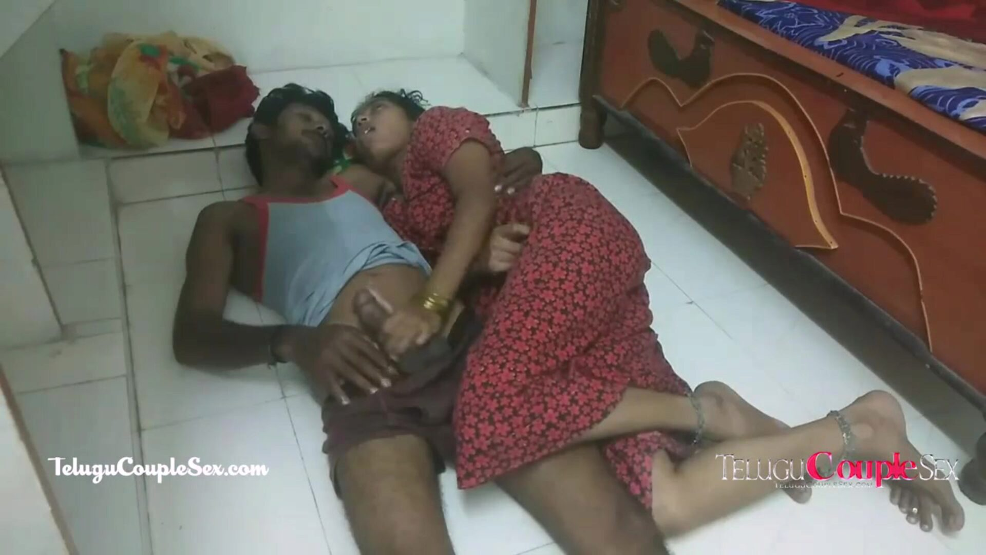 telugu village couple late night pumping with sexy desi wifey telugu village pair late night banging with hawt desi wifey