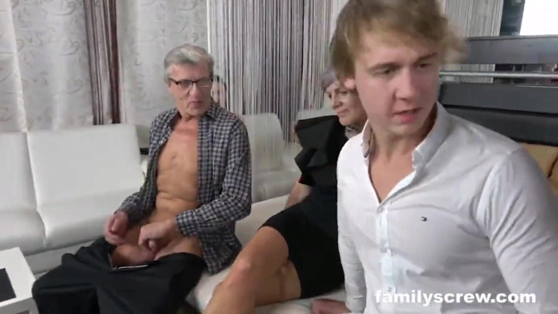 Family visits a Swingers Club for the First Time Can't recall the final time I had this much fun Families are the superlatively good Catch the total 4K ULTRA HD Video at FamilyScrew.com