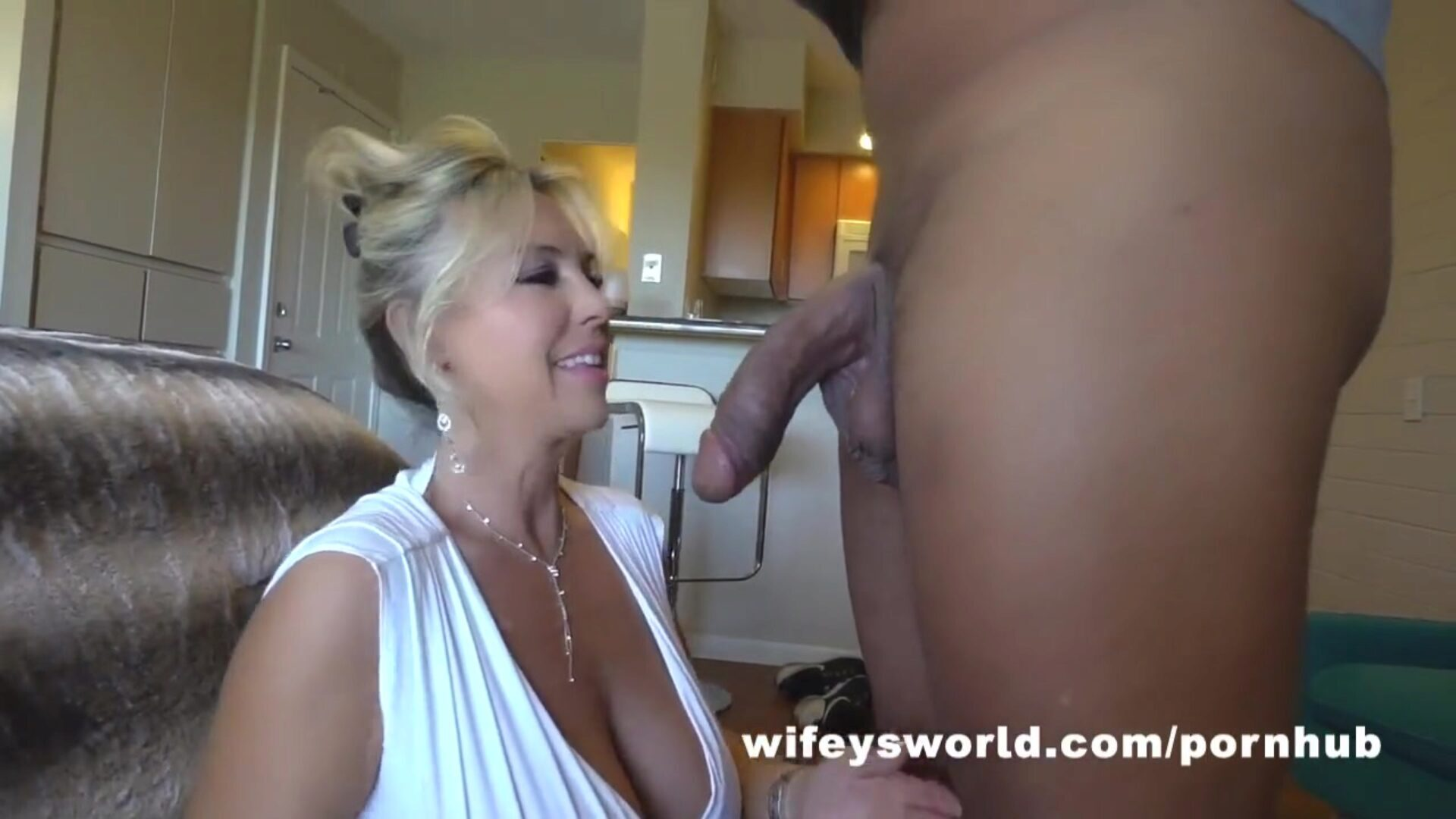 Wifey Gets Drilled Hard And Swallows Cum From BBC