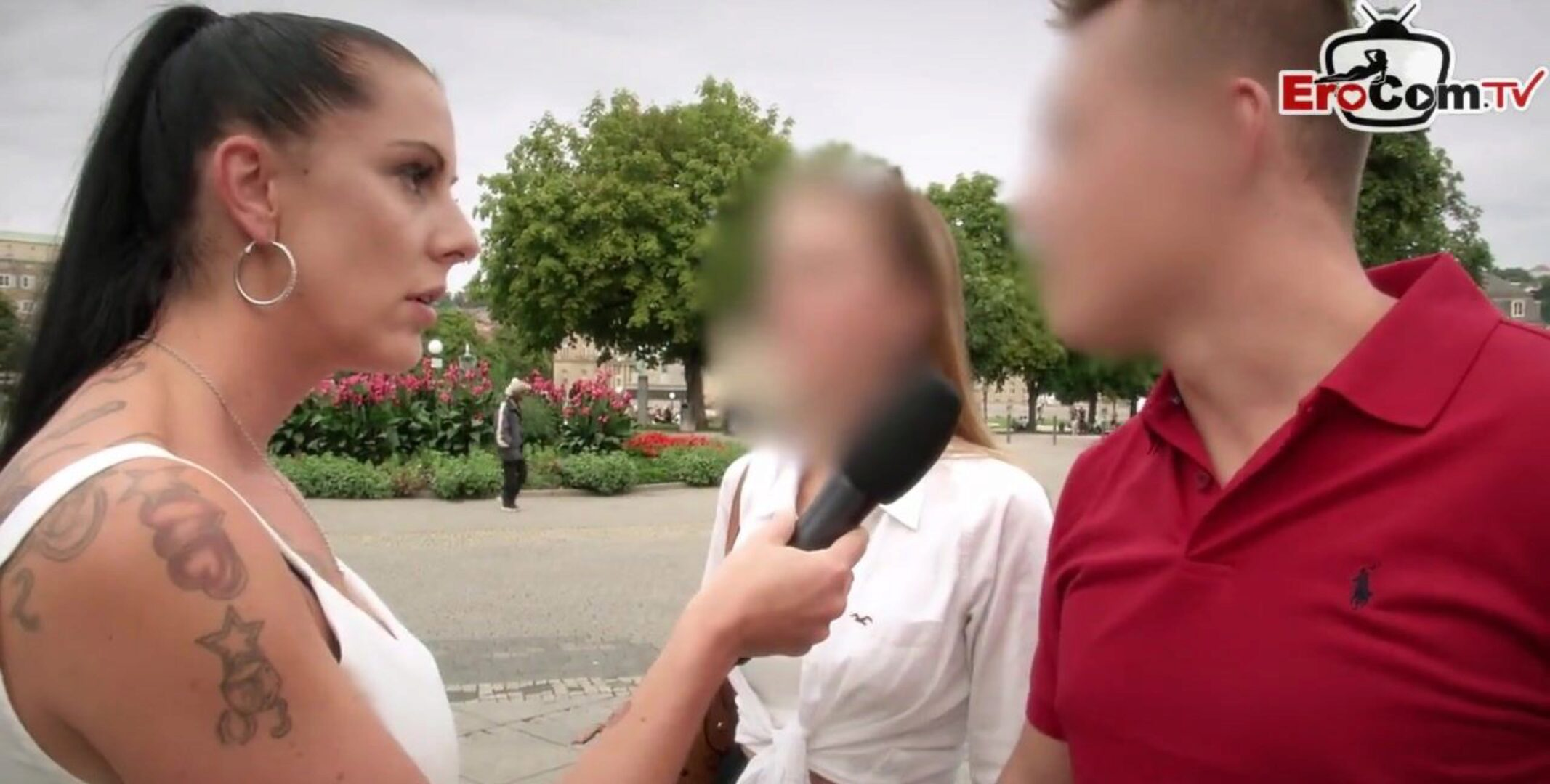 Deutsches Sex Casting Umfrage for outdoor anal invasion - german street pair