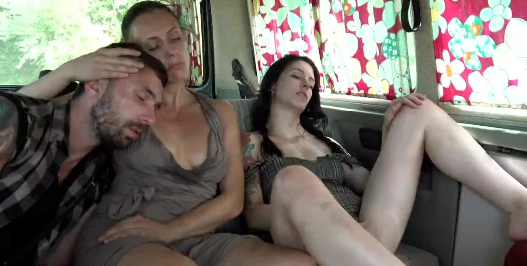 Perverse Family, Russian Hitchhikers Our family went on a trip Along the way we picked up 2 gorgeous Russian hitchhikers into the immoral family camper An incredibly amoral family road clip