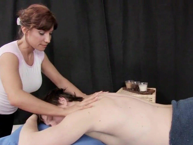 De sletterige masseuse