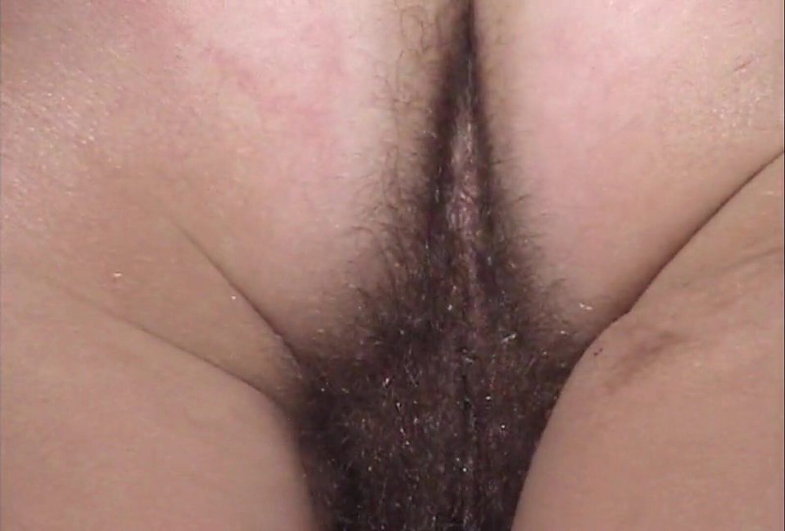 Hairy older Inge V3 - Hairy booty