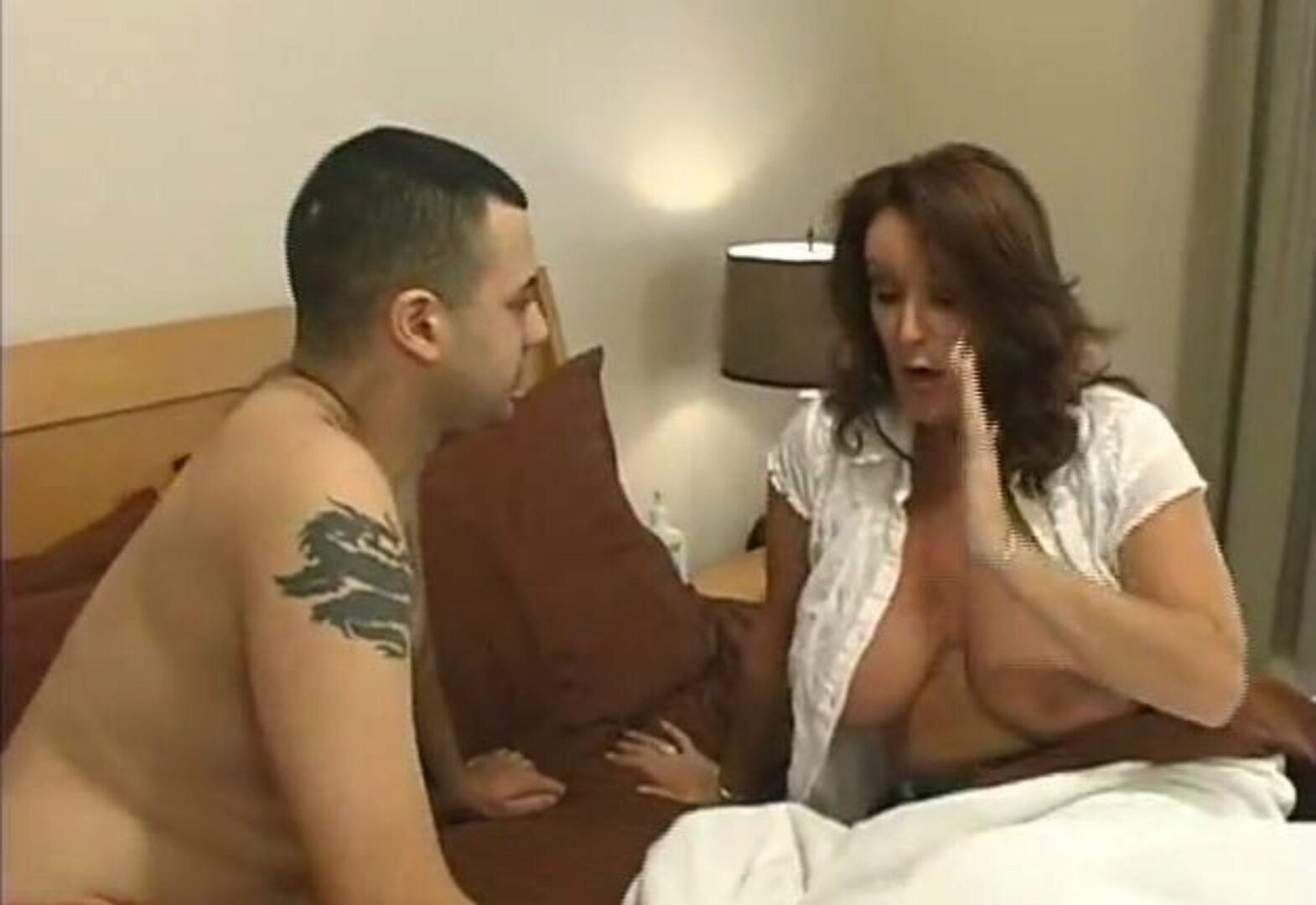 Mom Says Don't Cum Inside Me, But Son Forces & Creampies Mom Part two Mature mom and youthful son have rigid lovemaking Mom sob and and demands sonny not spunk inside her. But her lascivious son doesn't listen to that. He forces her mama and lastly pack her bawdy cleft with his cum