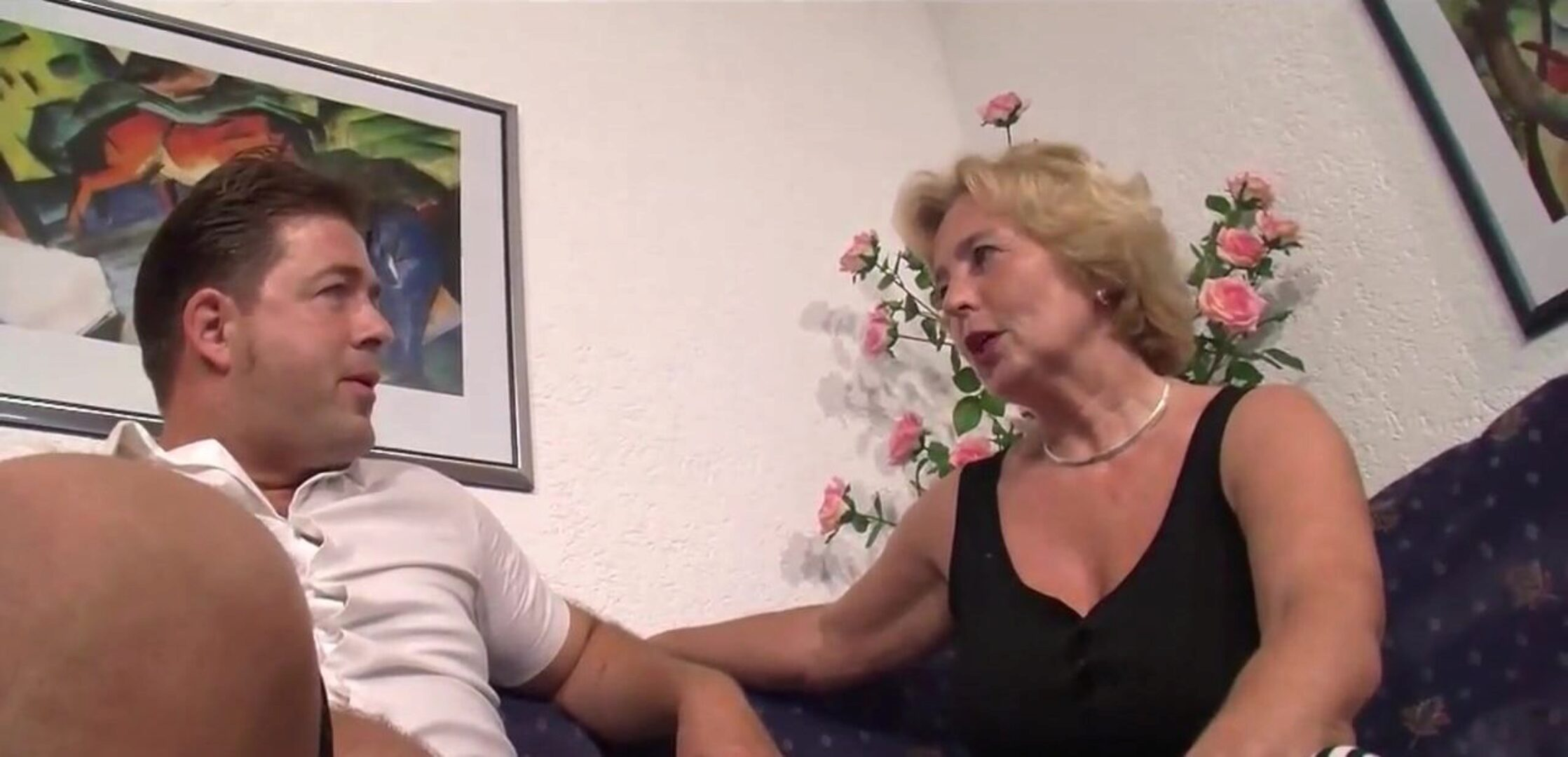 FEAR THE MONSTER GRANNY -B$R Horny German Family in total HD.