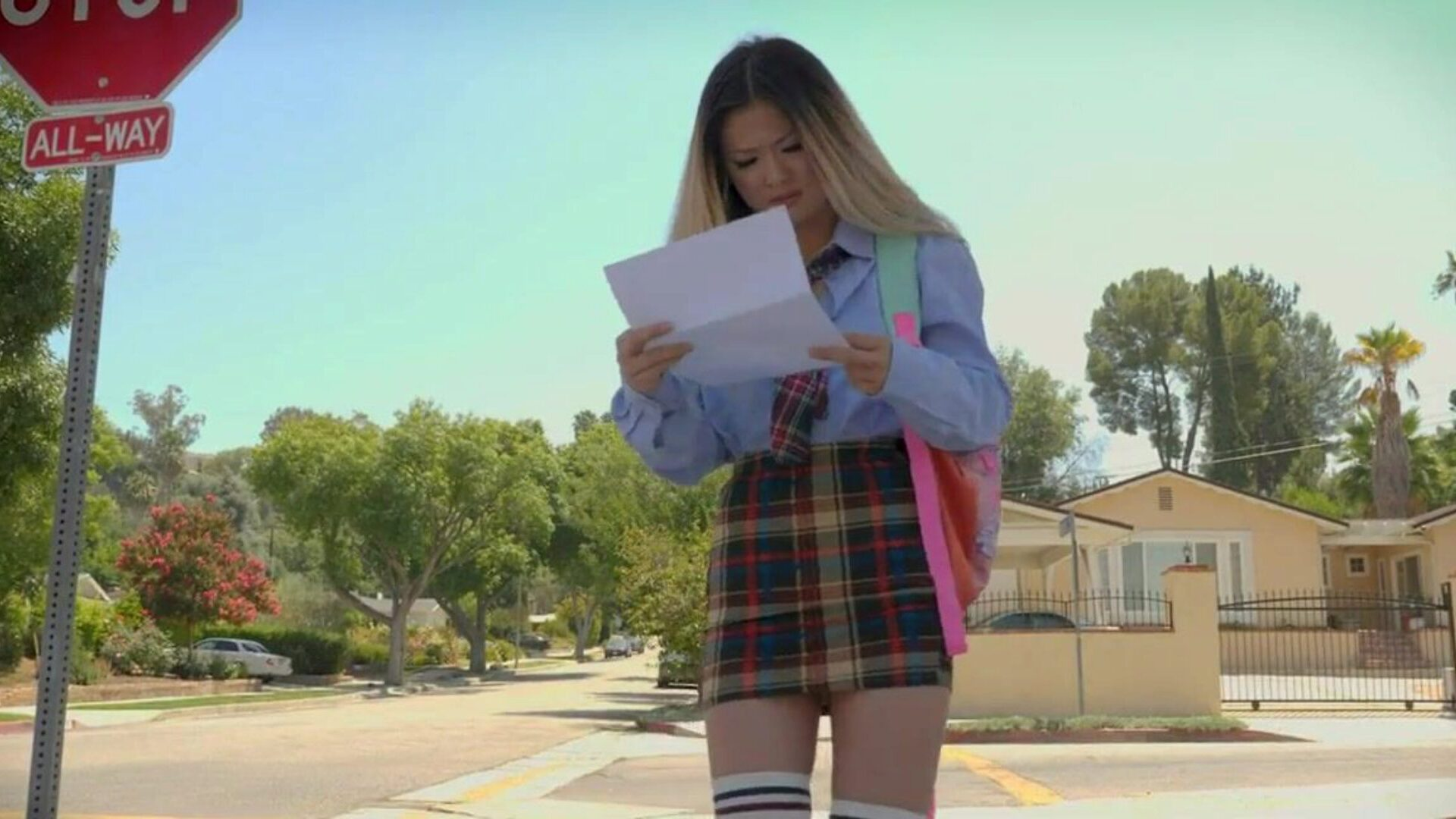 LittleAsians - Petite Asian Teen Fucks Her Classmate Foreign swap student Lulu Chu acquires her report card where that babe realizes her grades are not doing too nice so that babe receives home and starts dancing in hopes of calming some of her stress