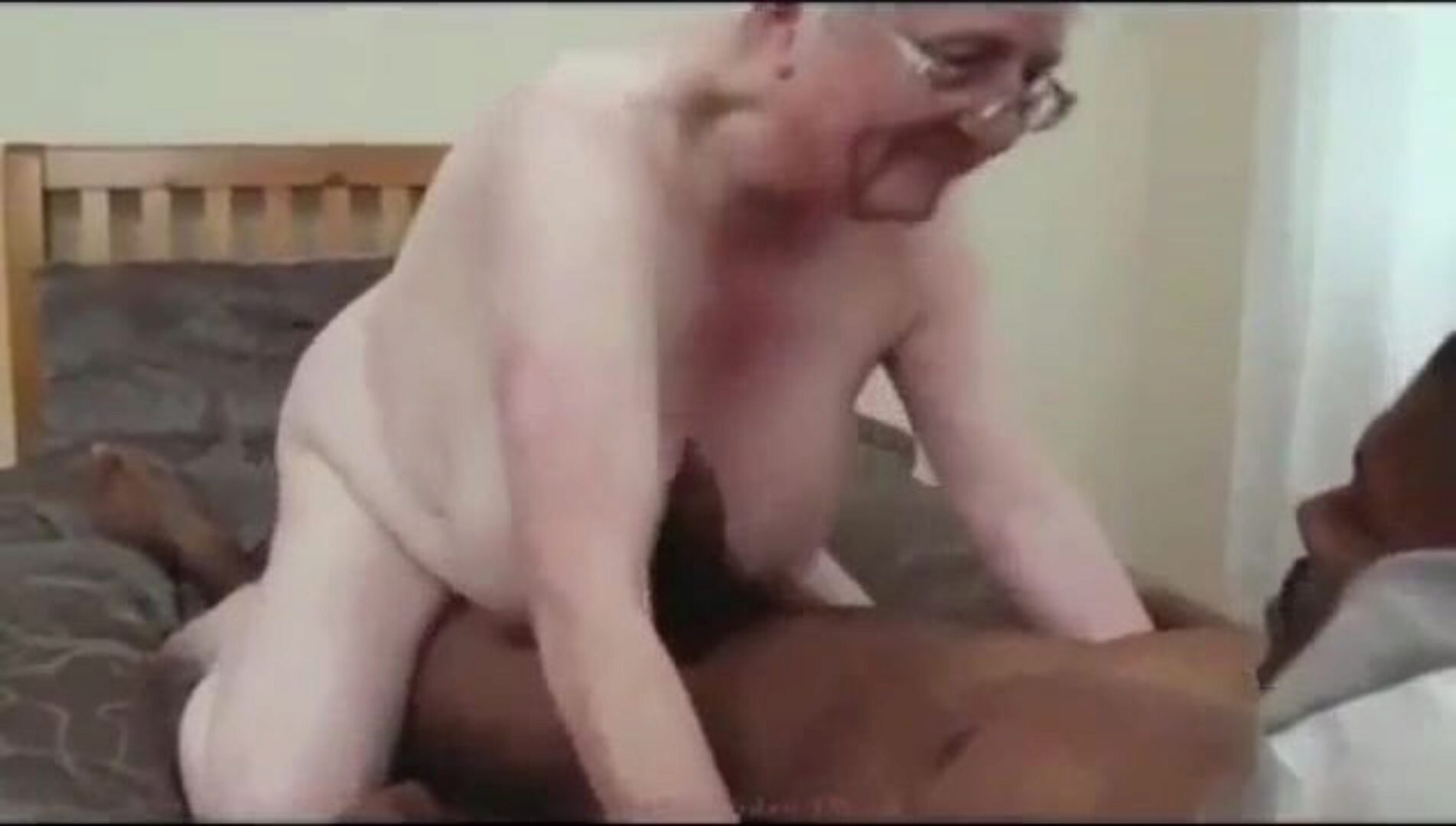 Granny Caroline Fucks Black Cock Old grandmother Caroline getting screwed by a valuable BBC. She's undoubtedly a grandmother I wish to plow