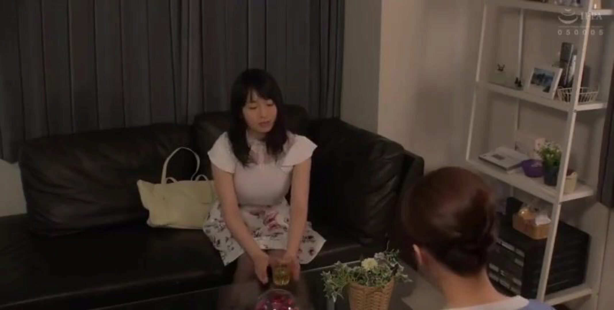 Japanese Lesbian. Beautiful Japanese Married Women with Lactating Breasts Seduced into Lesbian Sex v