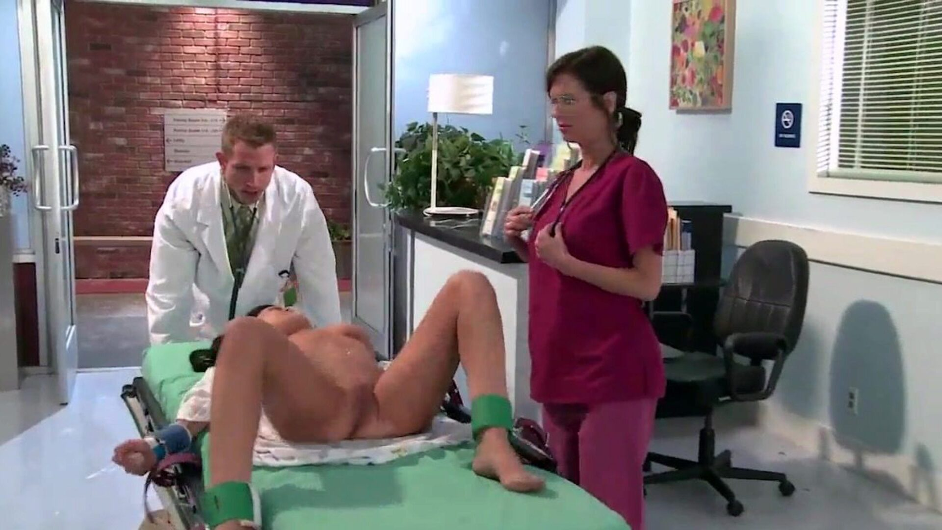 Brazzers - Doctor Adventures -  The Flatline Asshole episode starring Brandy Aniston and Bill Bailey