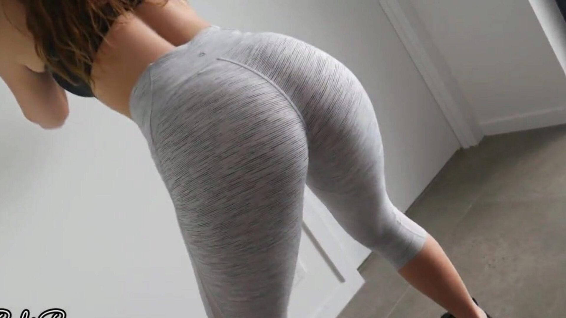Fit and Horny Yoga Babe Makes Me Cum in Her Sexy Panties